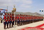 """""""可汗探索——2018""""多国维和军演在蒙古国举行"""