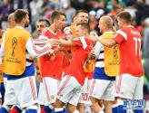 【世界杯】揭幕战:俄罗斯队胜沙特阿拉伯队