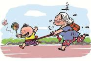 老人离开老家为子女带娃:新城市新生活,您还适应吗