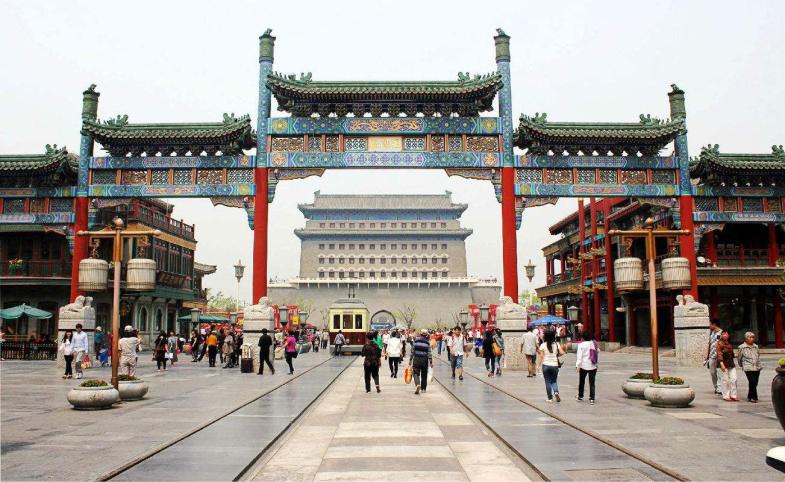 """北京前门:一片街区的""""文艺复兴"""""""