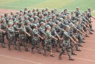 湖北宜昌:500余名专武干部和民兵骨干持证上岗组织学生军训