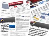 """""""一带一路""""沿线国家媒体关注莞港合作带来的多重效益"""
