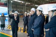 国家科技部部长王志刚一行莅临中铁装备调研