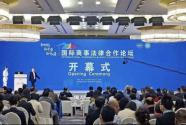 """""""2018国际商事法律合作论坛""""在湖南长沙拉开帷幕"""