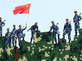 中国官兵赢得联黎军事障碍赛前三名