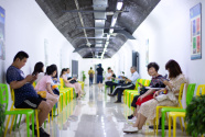 南京開放防空洞供市民納涼