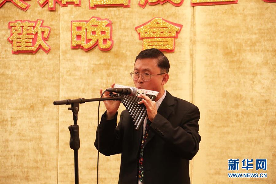 (图文互动)(3)香港艺术界人士举行联欢晚会庆祝新中国成立70周年