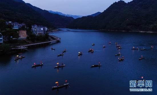 """(美丽中国)(1)""""渔舟唱晚""""助力特色乡村旅游"""
