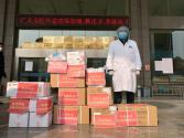 敏捷集团捐赠抗疫医疗物资抵达湖北随州孝感