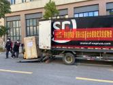碧桂園捐贈的首批高端醫療設備今日運抵雷神山醫院