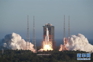 """长征五号B运载火箭首飞成功 我国载人航天工程""""第三步""""任务开启"""