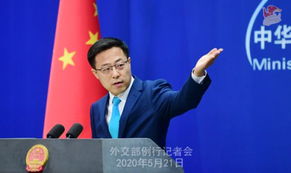 外交部:中俄兩國守望相助,攜手戰疫