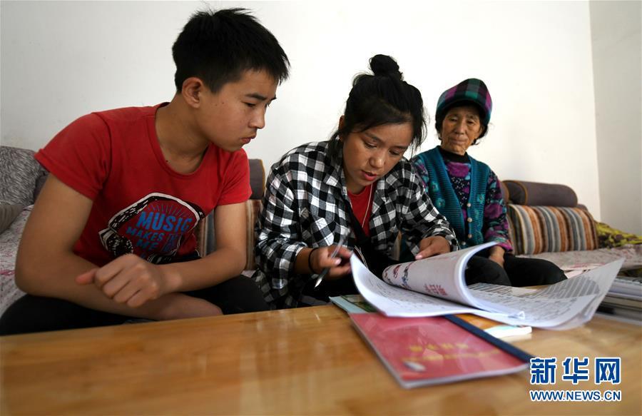 (热点鲜报·图文互动)(6)为了大凉山的下一代,她奔赴在助学路上