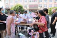 深澤縣衛健系統開展世界人口日宣傳活動